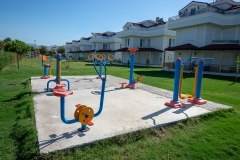 Outdoor fitness park