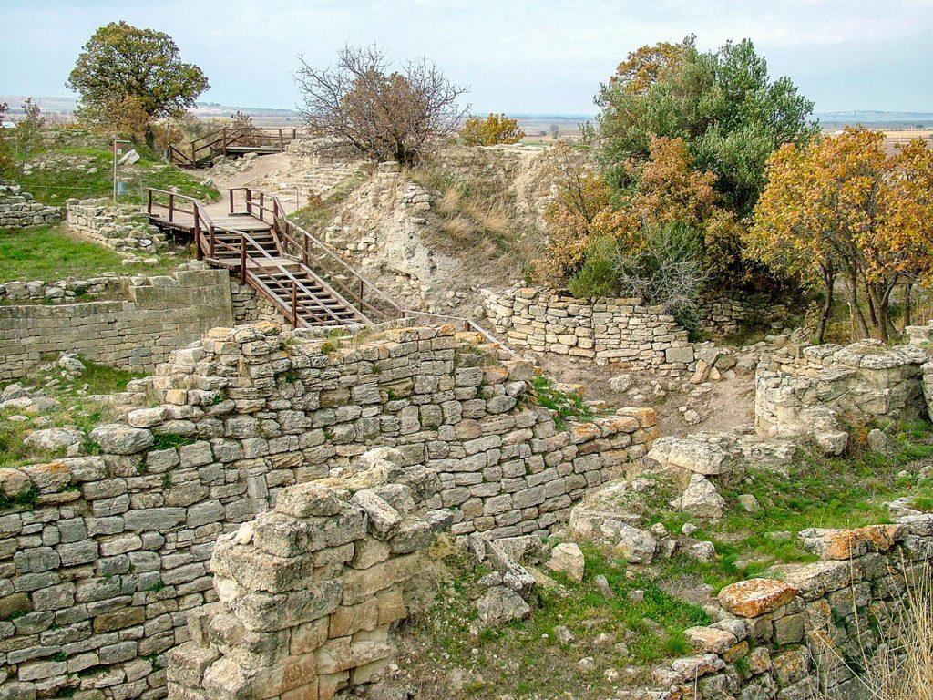 Trojan ruins
